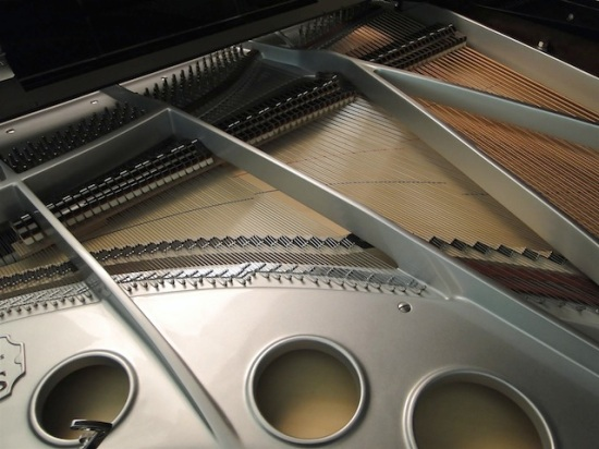 Inside the piano